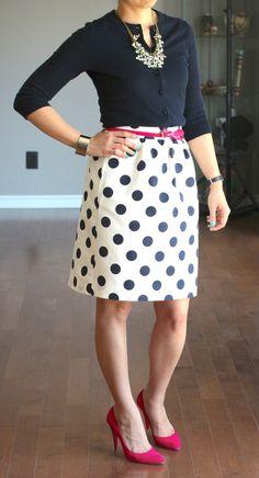 Big Shot Polka Dot Circle Skirt