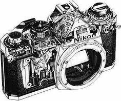 Nikon FE -