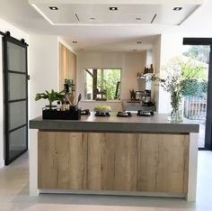Let # you # inspire # by # the # interior # of # Wonenbydjo # and # many - Moderne Inneneinrichtung Rustic Home Design, Home Design Plans, Kitchen Interior, Kitchen Decor, Kitchen Walls, Kitchen Furniture, Kitchen Cabinets, Kitchen Design Open, Wooden Kitchen