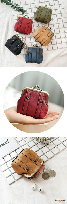 US$10.99+Free shipping. Women Wallet, Coin Bags, Mini, Shell, Lovely, Hasp. Color: Black, Blue, Red, Pink, Green, Brown. Shop now~