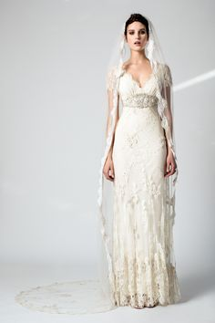 Temperley London! I love this Wedding Dress...When my time comes this would def be something I would want to wear!