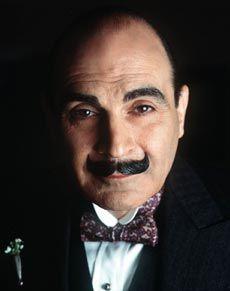 The wonderful David Suchet is the very best Hercule Poirot, ever!  http://agathachristiereader.files.wordpress.com/2011/07/poiora.jpg