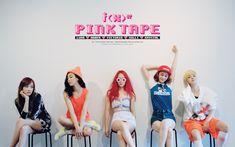 f(x), Pink Tape. #Seoulbeats