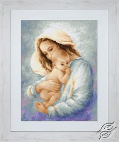 Mother and Child I - Cross Stitch Kits by Luca-S - B537