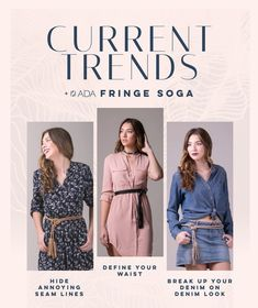 How To Wear Belts How to wear a fringe soga belt   Tunics   Scarves   Dresses   Define your waist   Break up prints   Hide annoying seam lines   Genuine leather belt   Womens belt   Fashion   ADA Collection - Discover how to make the belt the ideal complement to enhance your figure.