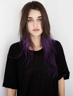 My current obsession #PURPLE DIP DYE                                                                                                                                                      More