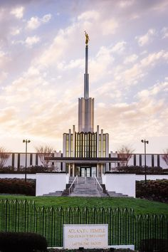 Atlanta Temple Vertical with Sign