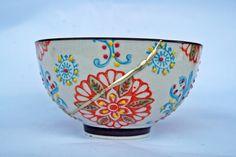 Kintsugi Planet: KINTSUGI NEW BOWL Kintsugi, Chawan, Ceramic Bowls, Wabi Sabi, Matcha, Serving Bowls, Planets, Hand Painted, Ceramics