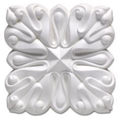 """Focal Point Lotus Rosette 4-1/4"""" -- for adorning a newel post"""