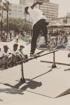 Uncensored Youth. Durban Skate Park, South Africa