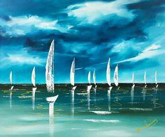 Sail Boats Sail Boats, New Art, Sailing, Candle