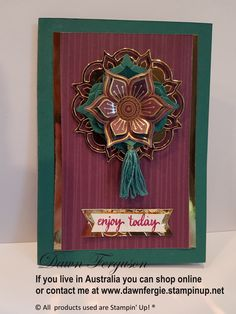 Eastern Palace Suite Available to purchase from May 1 2017 at www.dawnfergie.stampinup.net