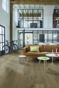 Des verrières dans un loft - Large windows in huge loft | #industrial #warehouse #industriel