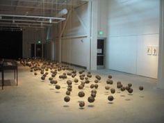 Wangechi Mutu, Suspended Playtime, ed. 2 of garbage bags, twine, dimensions variable News Space, African Art, Twine, It Works, Gallery, Bags, Handbags, Roof Rack, Nailed It
