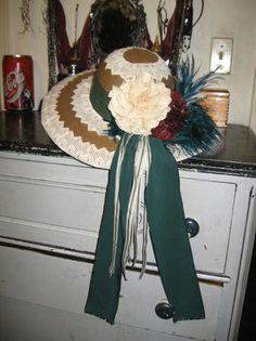 Victorian Ladies hat
