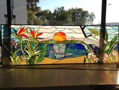 Toho Sunset - Delphi Stained Glass