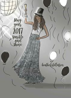 May Your 2017 sparkle and shine!