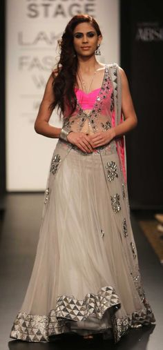 Arpita Mehta Lakme Fashion Week Arpita Mehta Collection, Designs, Fashion Shows, Lehengas & Sarees, Pictures and Photos on Bigindianwedding Pakistani Dresses, Indian Dresses, Indian Outfits, Indian Clothes, Indian Attire, Indian Wear, Lehenga Designs, Salwar Designs, Blouse Designs