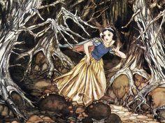 Original Snow White concept art