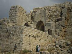#Nimrod #Fortress in #Golan #Heights. 1229. Fortezza di Nimrod, Golan. 1229 ca. - Israel