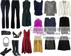 Wardrobe Oxygen: Ask Allie: Edgy Refined Style while Minimizing Hips