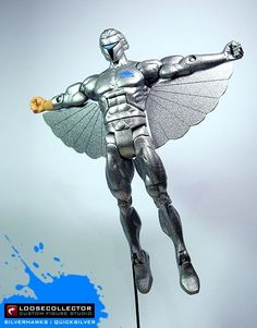Silverhawks action figure custom by Loosecollector.