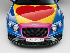 Este Bentley Continental GT no pasará desapercibido pero no culpes a Ágatha Ruiz de la Prada