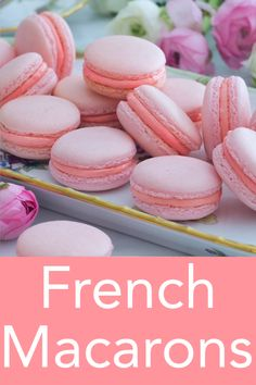 This easy French macaron recipe from Preppy Kitchen makes a batch of the most dainty, delicate, and delicious cookies that will float right into your mouth and disappear. I've packed all my tips into Easy French Macaron Recipe, French Macaroon Recipes, French Desserts, French Macaroons, Best Macaron Recipe, Recipe For Macaroons Easy, Macarons Easy, Easy French Recipes, Dump Cake Recipes