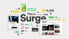Surge - powered by BBC
