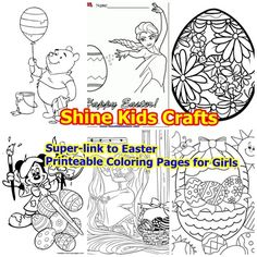 Super Links To Easter Printable Coloring Pages For Girls