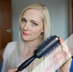 Blow dry your hair like pro with Centrix Heat Boss Brush via @beautybymissl