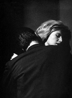 We Had Faces Then — Alain Delon and Monica Vitti in L'Eclisse(Michelangelo Antonioni  1962