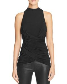 Bailey 44 Manhattan Ruched Top | Bloomingdale's