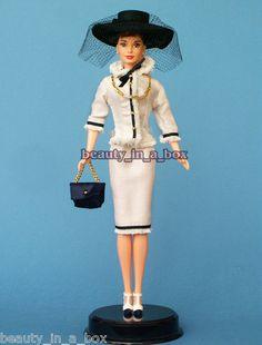 Audrey Hepburn Classic Contemporary Ensemble Celebrity Redress Loose Barbie Doll | eBay