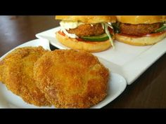 Crispy Chicken Patty Burger 🍔 By Mind Blowing Cooking - YouTube