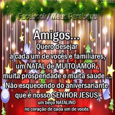 Ademilson e Elaine 🎄 Jesus Prayer, Merry Christmas, Prayers, Messages, Humor, Pasta, Christmas Messages For Friends, Jesus Quotes, Powerful Quotes