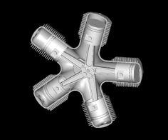 Cette vidéo montre la construction d'un moteur radial miniature. Pour le voir fonctionner allez à 8m45. Un moteur radial ça marche comme ça : ( Via )