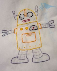 Embroidery Robots Free Patterns