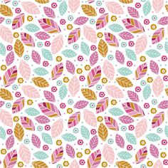Blue Jelly Studio: grafično oblikovanje, tiskanje in vzorec design Pretty Patterns, Flower Patterns, Textures Patterns, Color Patterns, Design Patterns, Leaf Patterns, Paper Background, Background Patterns, Backgrounds Wallpapers