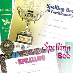 Spelling bee certificate jones school supply templates spelling bee yelopaper Images