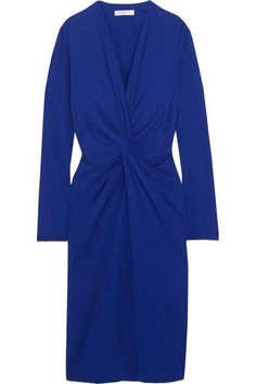 Lanvin Woman Twist-front Jersey Dress Black Size 42 Lanvin u0IoQO
