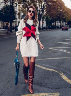 32 Last Minute Easy Thanksgiving Outfit To Perfect Your Style – Daily Fashion Winter Sweater Dresses, Sweater Outfits, Dress Outfits, Sweater Boots, Thanksgiving Outfit, Kids Thanksgiving, Simple Outfits, Trendy Outfits, Unique Dresses