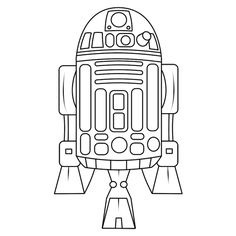 Lego R2d2 Coloring Pages