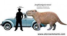 Um rato gigante com mais de 2000 quilos