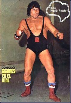 """Ruben """"El Ancho"""" Peucelle, de Titanes en el Ring."""