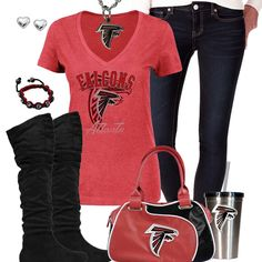 low priced 0326b 4e025 51 Best Atlanta Falcons Fashion, Style, Fan Gear images in ...