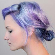 Pastel hair color, how to tone down Splat! Hair dye
