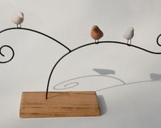 Escultura 3 Passarinhos
