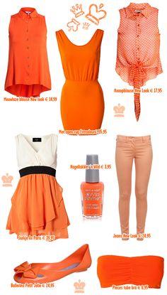 Ligt jouw oranje outfit al klaar voor Queensday?