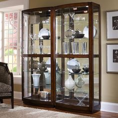 Kitchen display cabinet best of ornament edgarpoe used cabinets wall . kitchen island cabinets corner for Glass Curio Cabinets, Used Cabinets, Glass Cabinet Doors, Glass Shelves, Glass Doors, Crockery Cabinet, China Cabinets, Modern Cabinets, Large Furniture